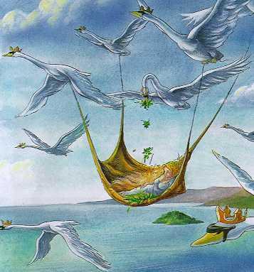 "Еще картинки к сказке  ""Дикие Лебеди "" Г.Х.Андерсен.  Сказки Г.Х.Андерсена."